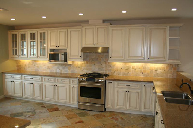 That Timeless Kitchen Aura With White Cabinets Cabinets Direct