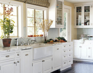 best countertop white cabinets