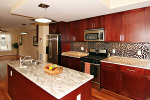 best dark cherry cabinets style