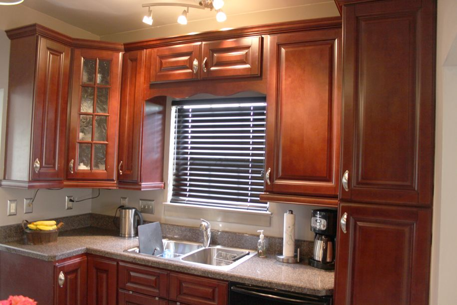Discount kitchen cabinets to improve your kitchen s look for How to increase cabinet depth