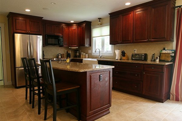 best quality dark cherry kitchen cabinets - Cherry Kitchen Cabinets