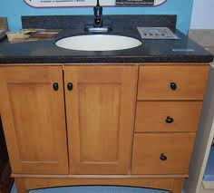closeout bathroom vanities discount