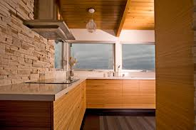 Designed Bamboo Cabinets Kitchen