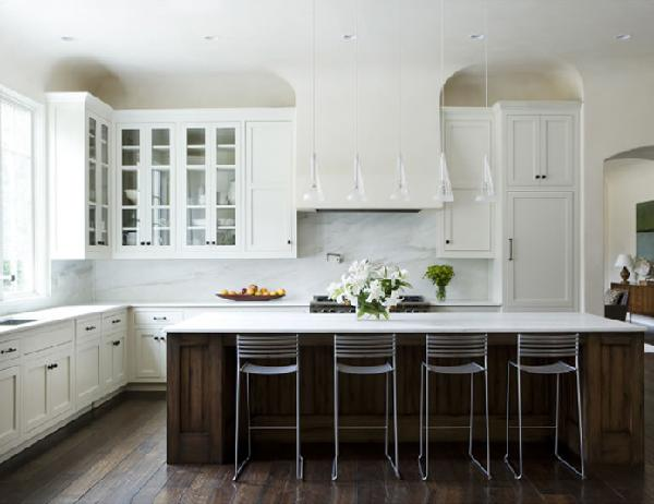 Refacing your kitchen with white cabinet doors cabinets for White and brown kitchen ideas