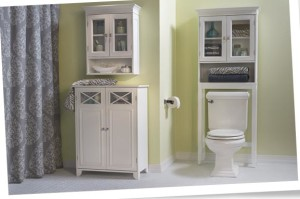 durable bath storage cabinets
