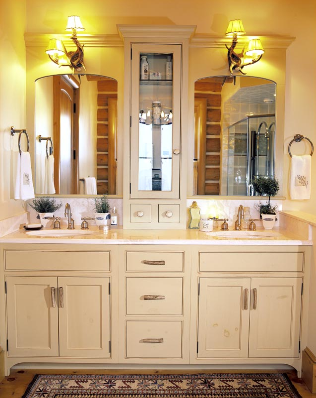 Impressive Bathroom Vanity Cabinet Model