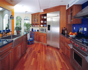 fine quality cherry wood kitchen cabinets