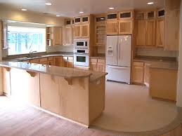 great rustic maple kitchen cabinets