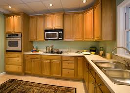 nice oak kitchen cabinets