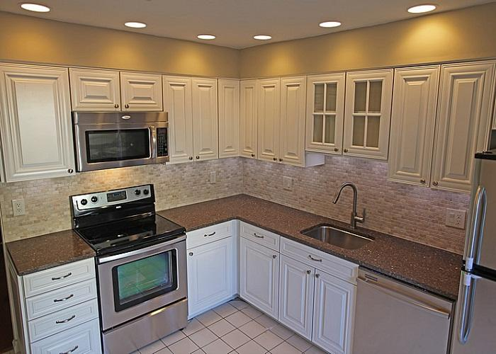 cheap white kitchen cabinets 2