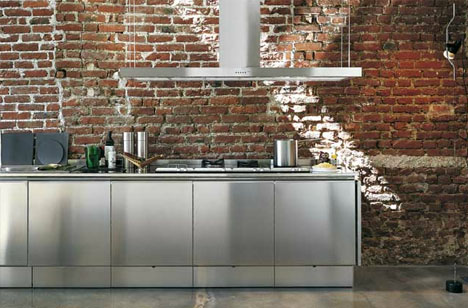 simple stainless steel commercial kitchen cabinets