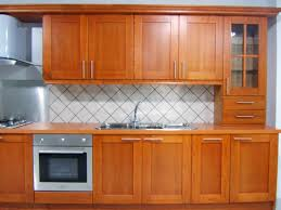 small solid wood kitchen cabinets
