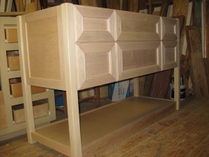 unfurnished unfinished cabinets