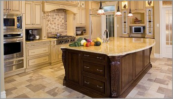 Kashmir gold countertop granite