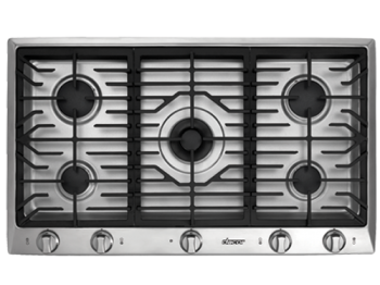 different Dacor cooktop parts