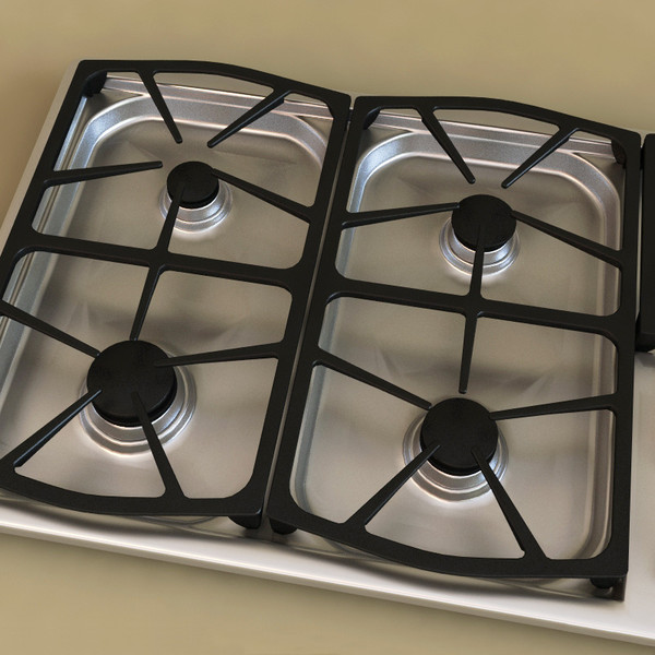 Dacor cooktop fit for a charming kitchen cabinets direct for Dacor cooktop