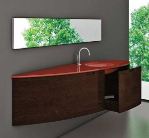 modern wall mounted bathroom vanity cabinets